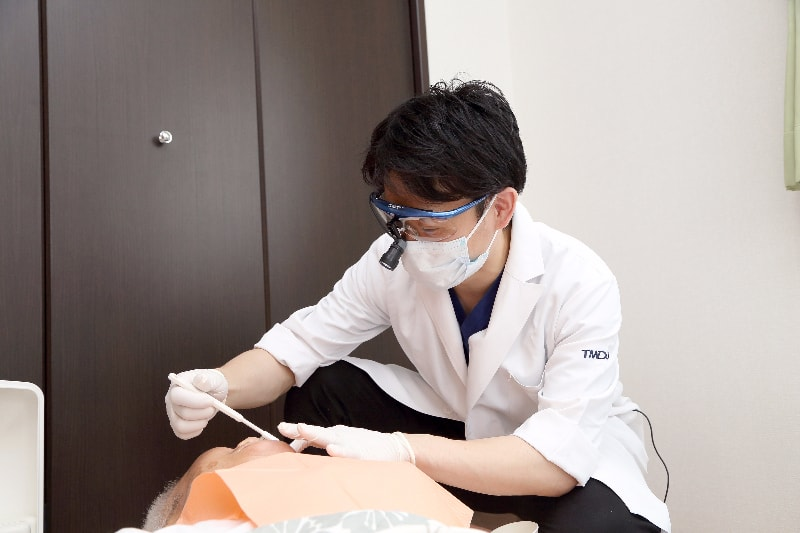 歯医者さんに通院するのと何が違うの?